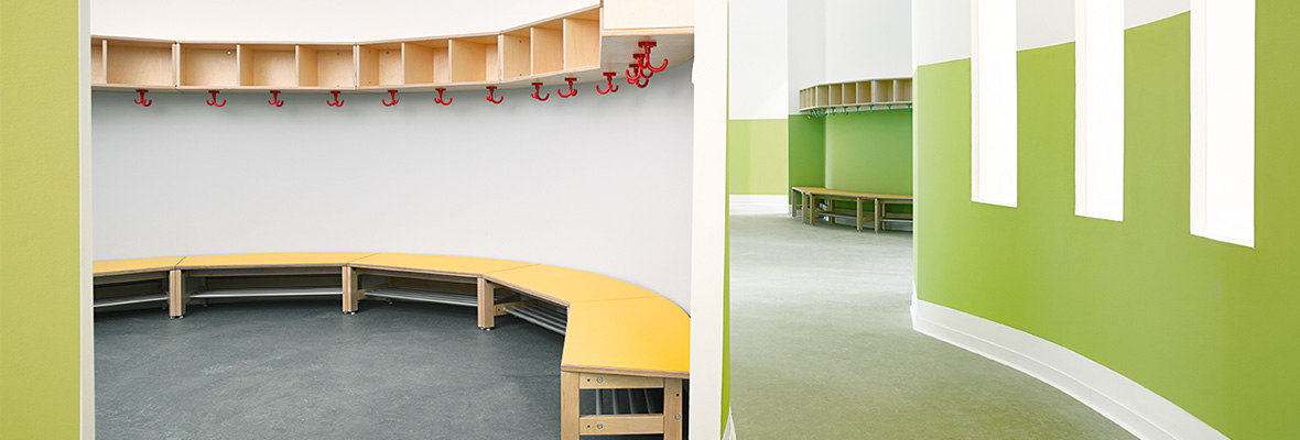 architektur f r krippe kindergarten und schule. Black Bedroom Furniture Sets. Home Design Ideas