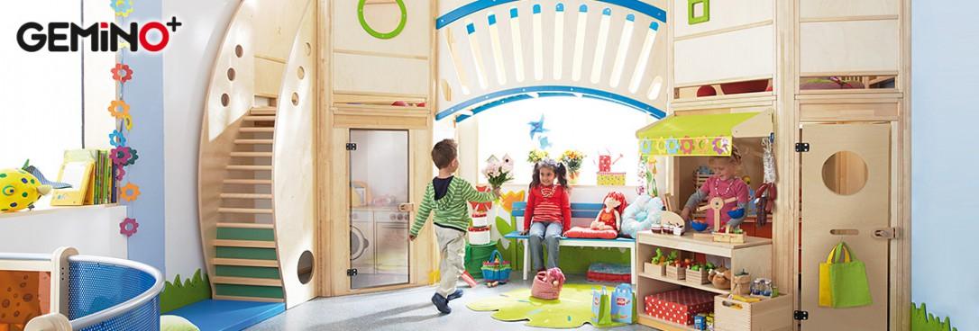 gemino spielh user architektur f r krippe kindergarten. Black Bedroom Furniture Sets. Home Design Ideas